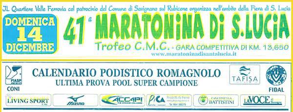 41maratoninasantalucia