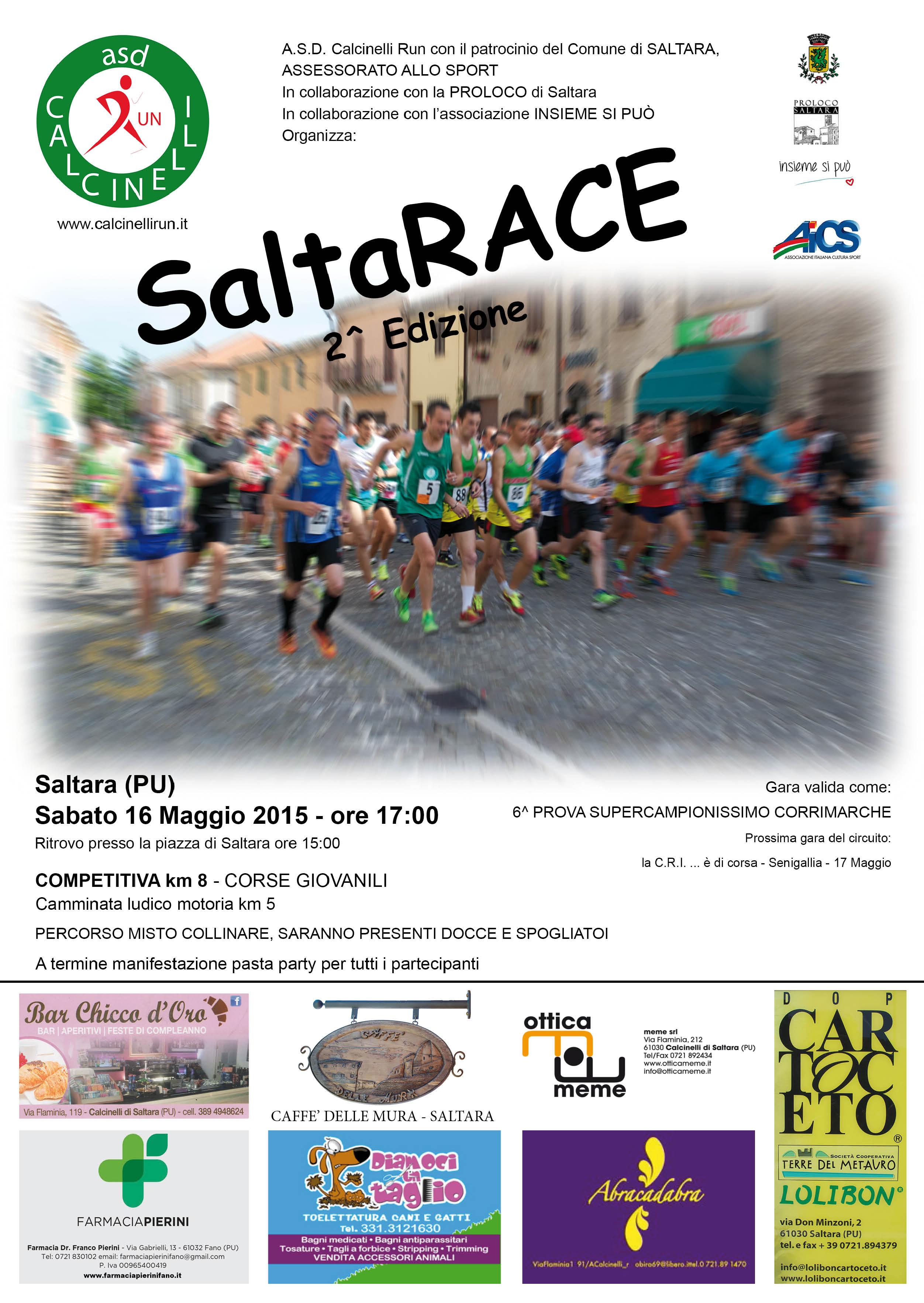 Volantino SaltaRACE1